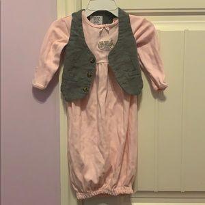 Babysuit with vest